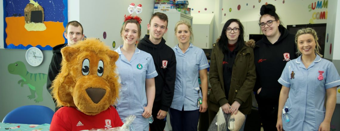 Foundation's Team Up To Spread Christmas Joy