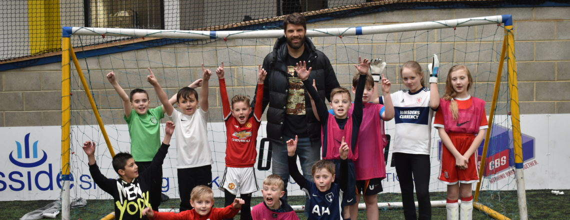 Boro Shot Stopper Dimi Visits Keepers And Strikers Holiday Course