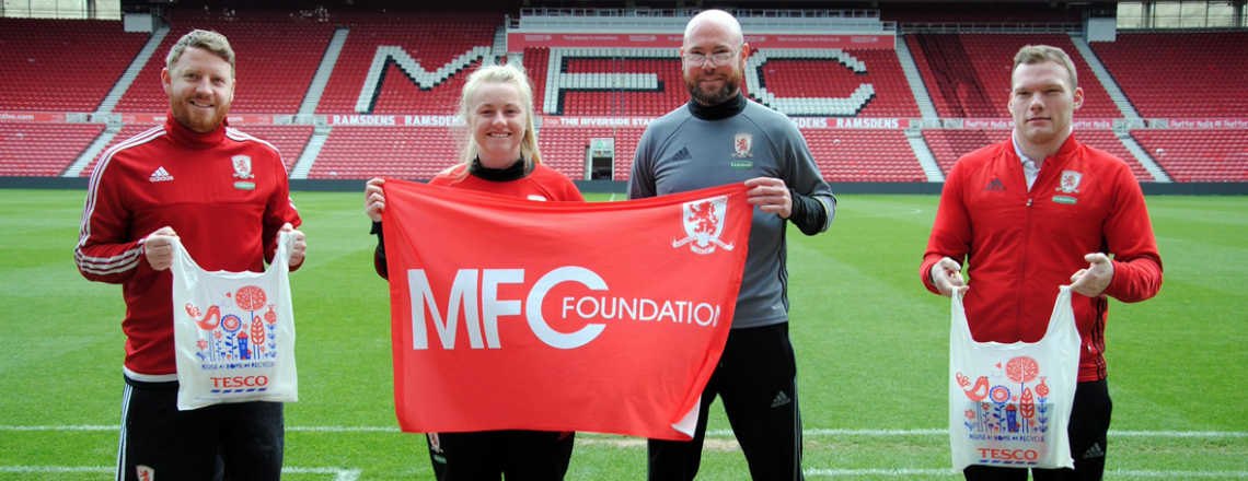 MFC Foundation Bags £2000 In Tesco Initiative