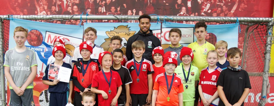 Cyrus Christie Drops In On Boro Holiday Course