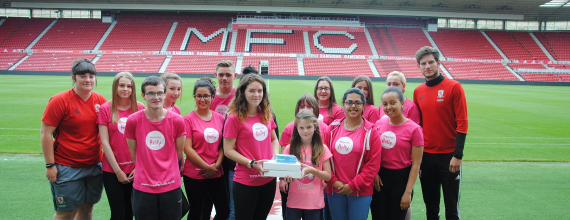 NCS Group Raise Funds For 'Hope For Holly' Charity