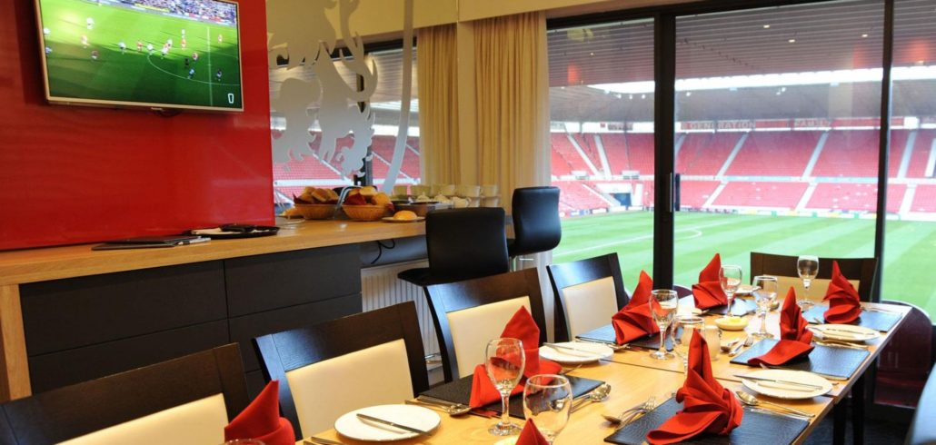Corporate Box Package – Boro vs Scunthorpe United