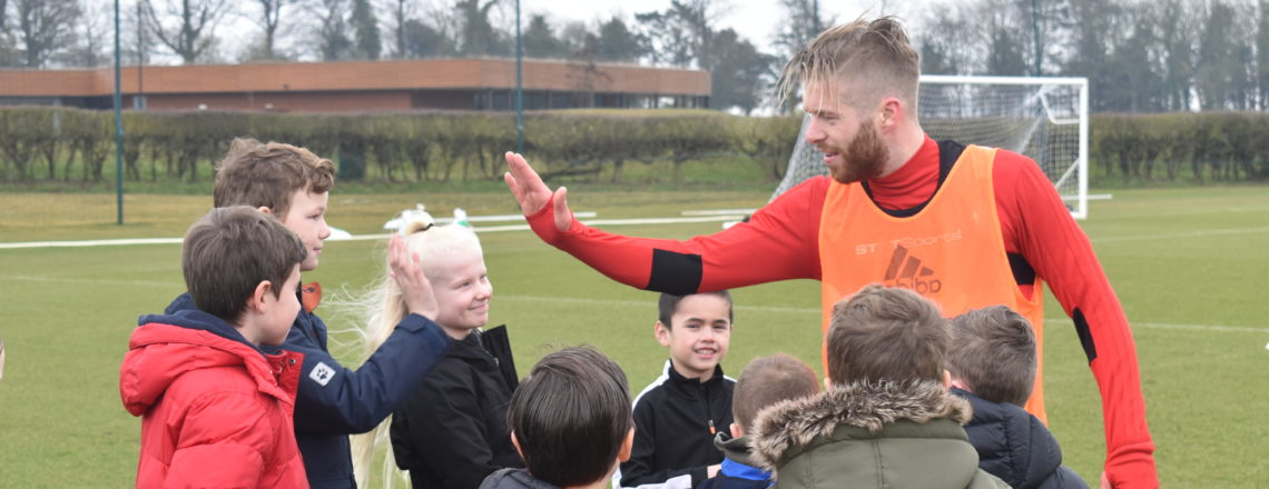 Rockliffe Training Ground Treat For Primary School Stars