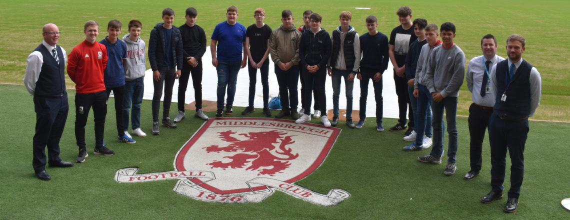 Billingham Students Raise Their Game With MFC Foundation & Teesside Retail Park