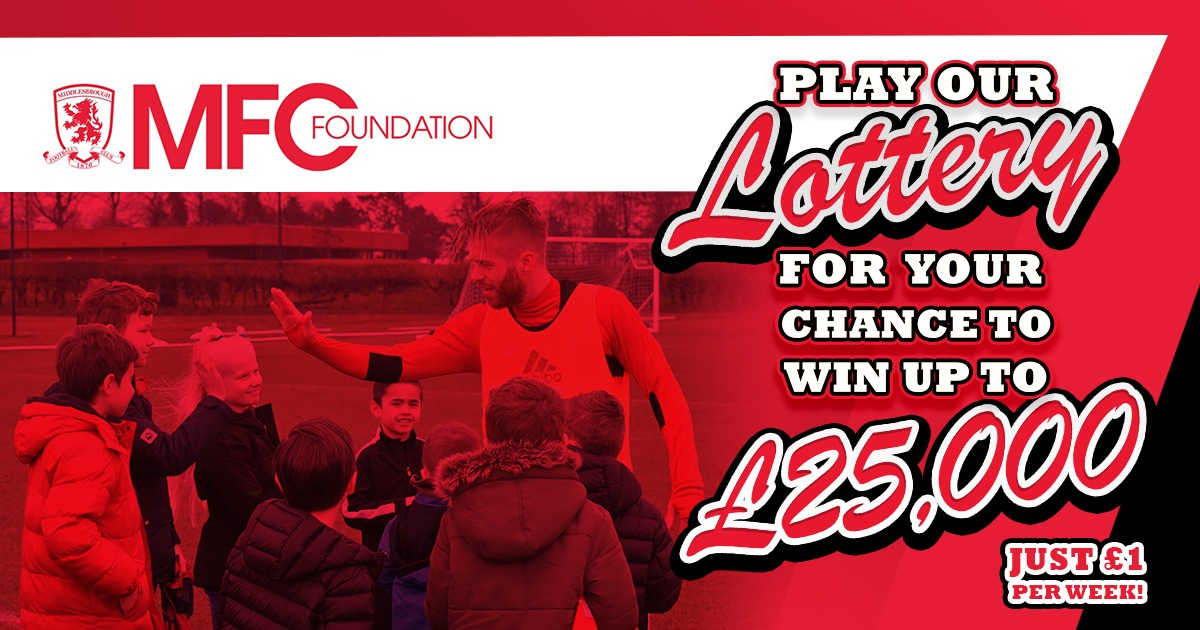 Join Our MFC Foundation Lottery for Your Chance to Win £25,000!