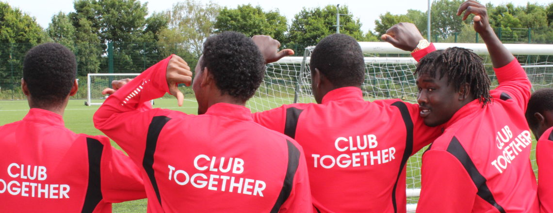 Premier League Works Sponsored Walk Raises Funds for Refugee Football Team