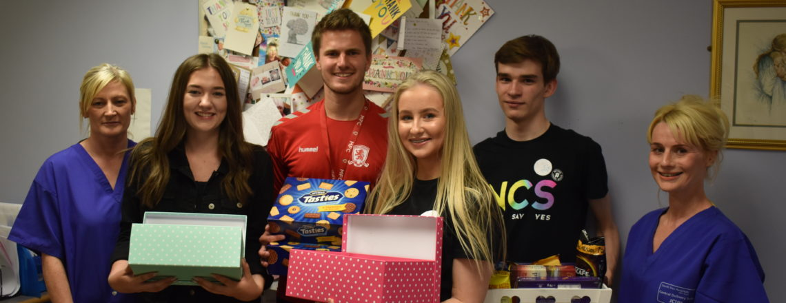 NCS Lends a Helping Hand to Local Teesside Charities