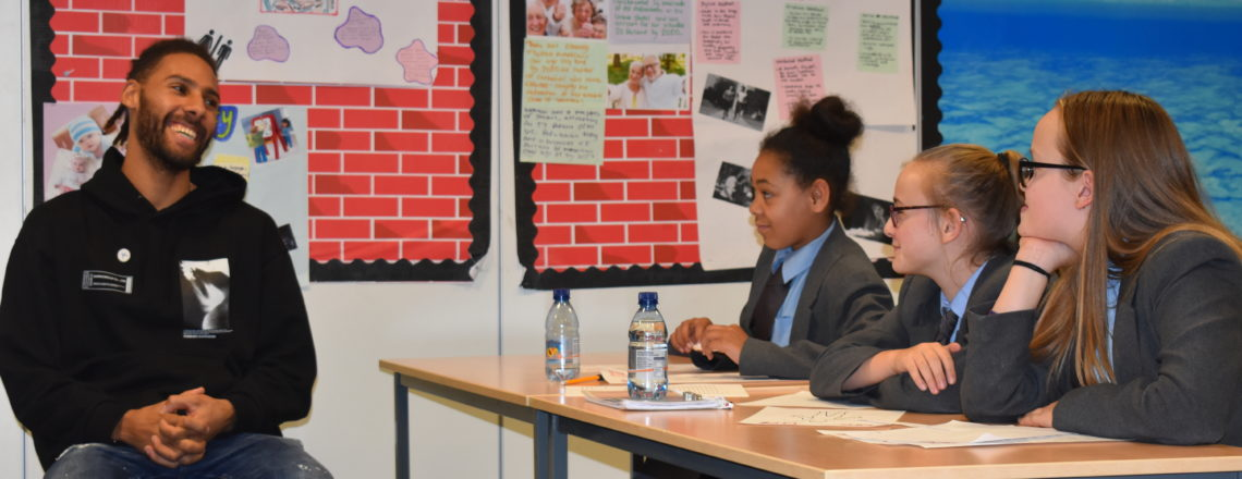 Shotton's Stepping Up at Hillsview Academy
