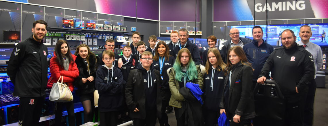 Thornaby Students Raise Their Game at Teesside Park