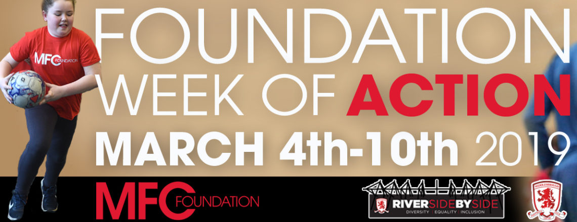 Foundation Announce Week of Action 2019