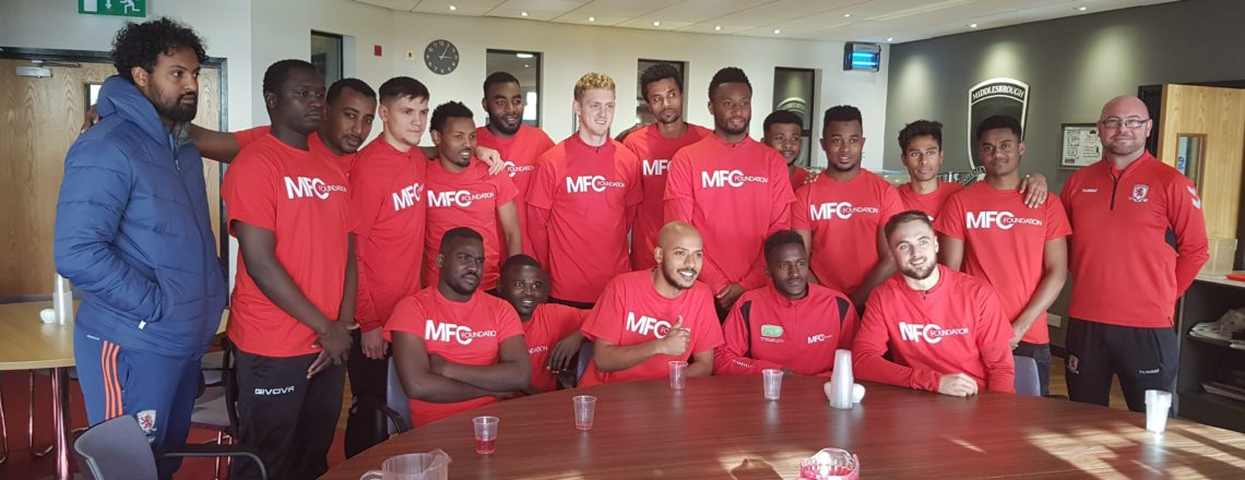 MIDDLESBROUGH FOOTBALL CLUB AND MFC FOUNDATION TO MARK CONTRIBUTION REFUGEE PLAYERS MAKE TO FOOTBALL, IN AMNESTY'S 'FOOTBALL WELCOMES' WEEKEND