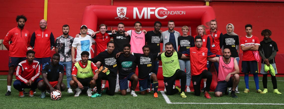 "Jonny Howson Backs ""Great"" Work Done By Football Welcomes And Amnesty UK"
