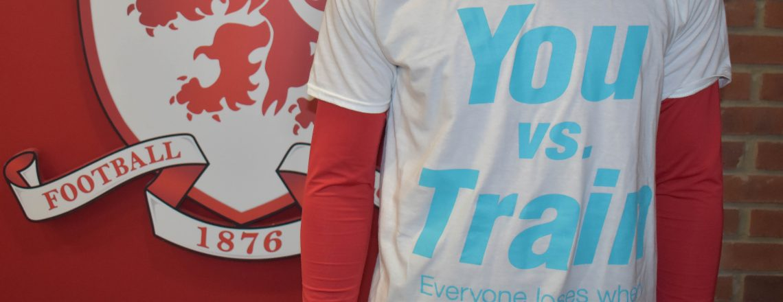Boro Stars Back You vs Train Campaign