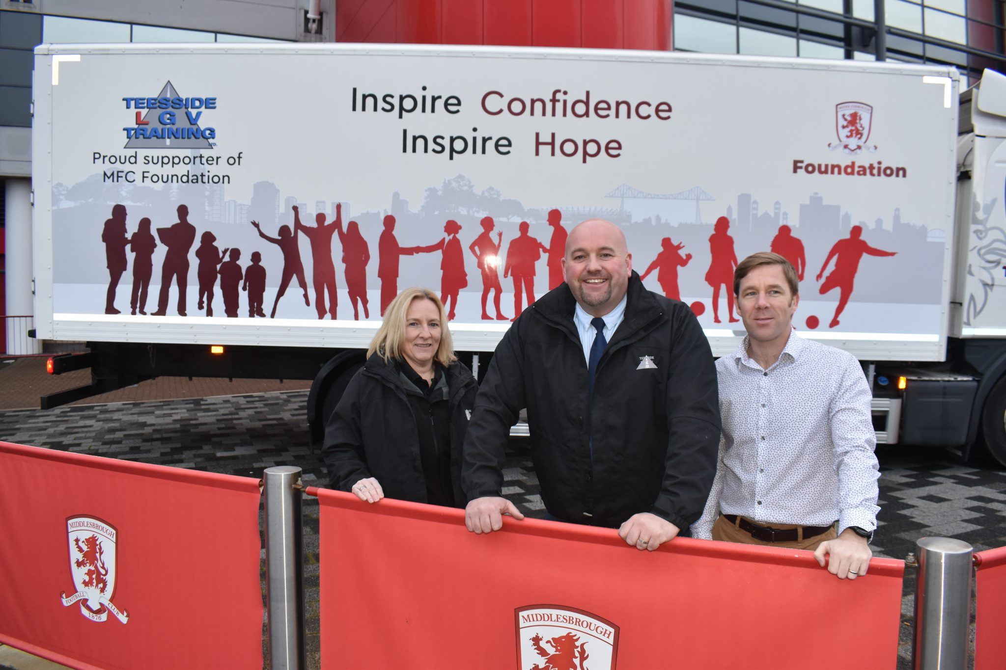Driving MFC Foundation across the Tees Valley