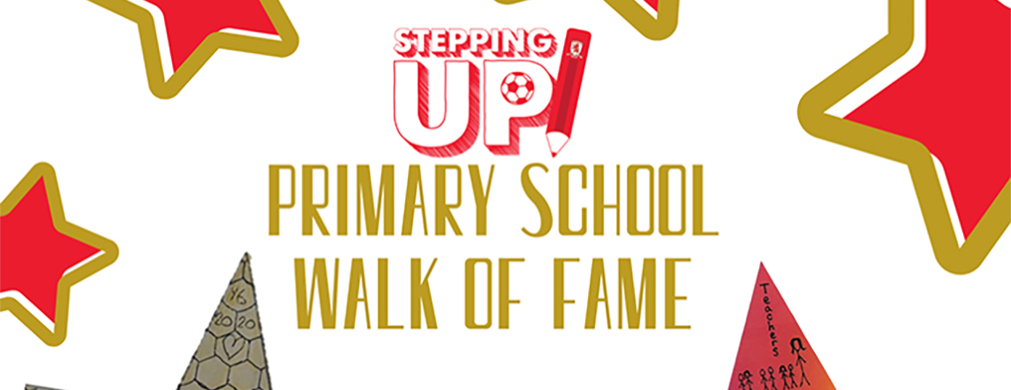 Stepping Up Walk Of Fame