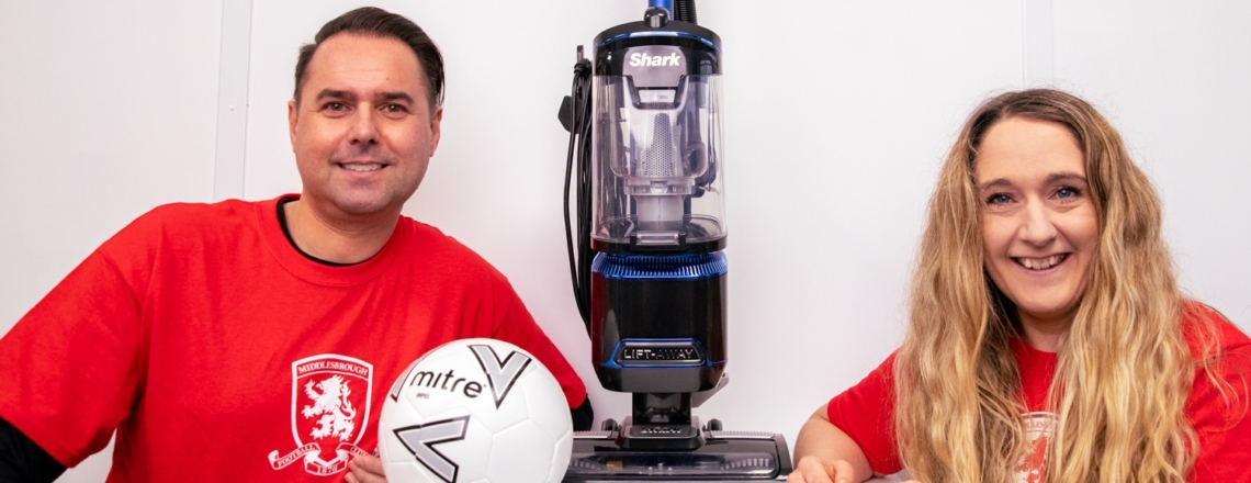WIN a Shark Vacuum with MFC Foundation and Ecodry Carpet Care