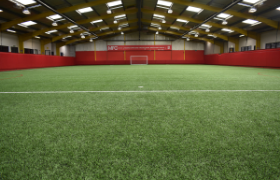 Indoor pitch at the Herlingshaw Centre