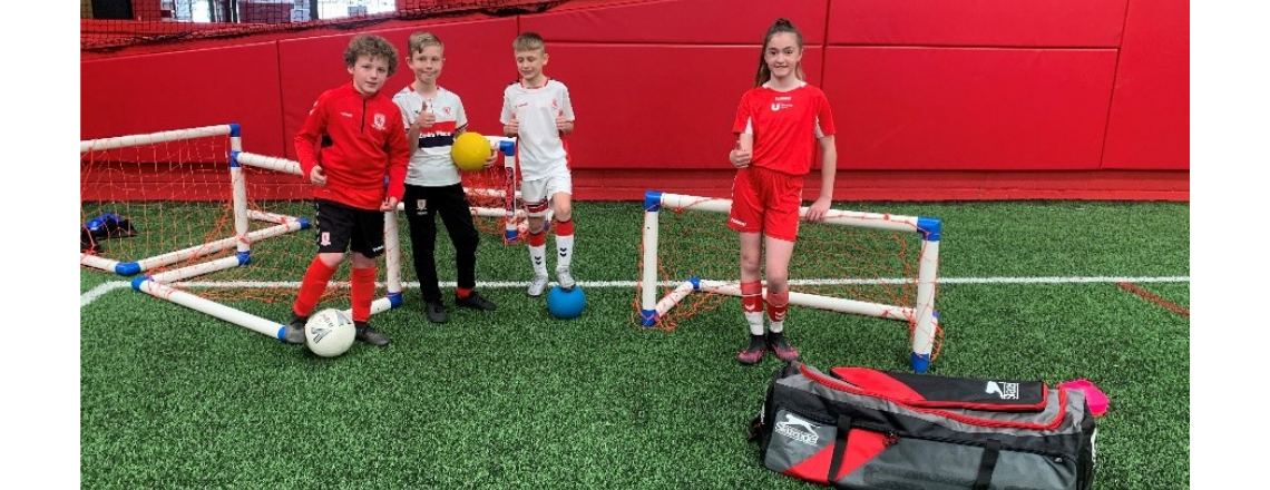 Holiday Courses Boosted With Equipment Donation