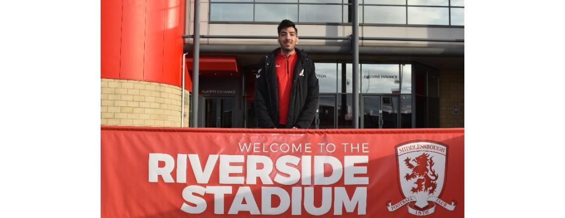 Football Welcomes: Shaygan's Story
