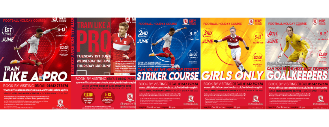 Holiday Courses Week Commencing June 1st